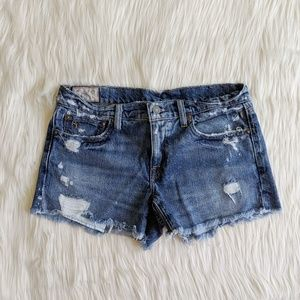 Polo Ralph Lauren Crosby Short Jean Shorts size 27